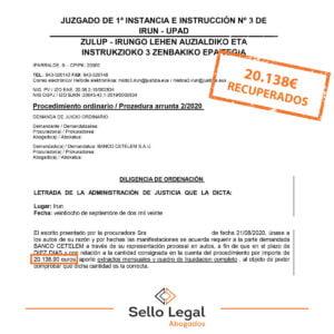 Auxiliar administrativa recupera 20.138 euros pagados de más a Cetelem