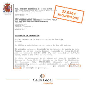 Logramos que Wizink devuelva 32.036 euros a un peluquero de Gijón