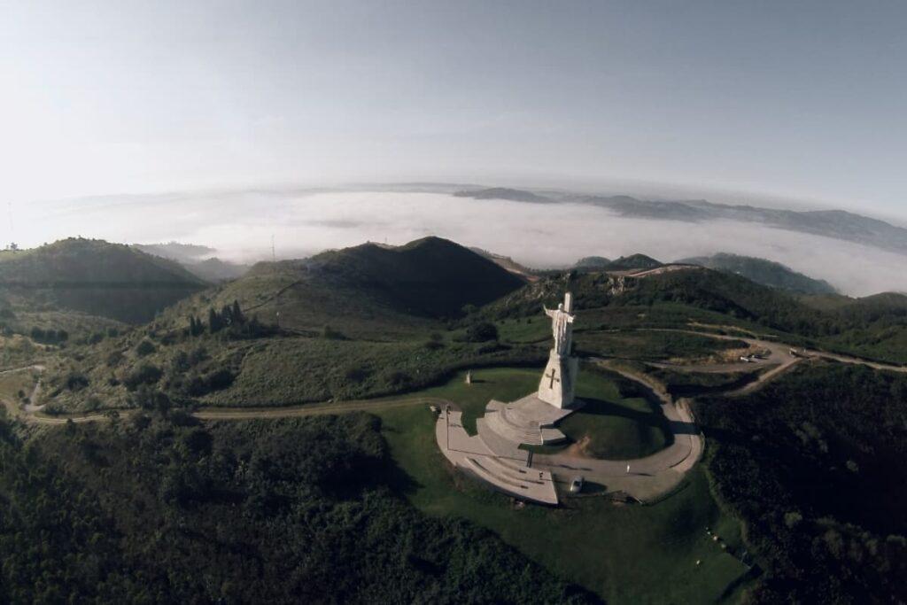 El monte Naranco, mirador natural de Oviedo